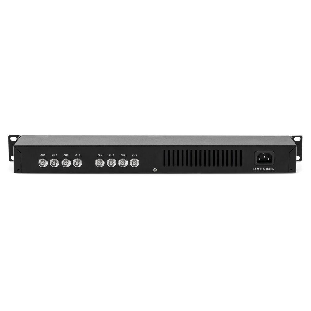Power Balun 8 Canais 4K com Alimentação VB 3008 WP Intelbras