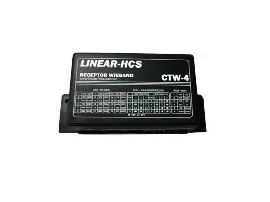 Receptor Wiegand Para Módulo Guarita Linear Hcs Ctw4A