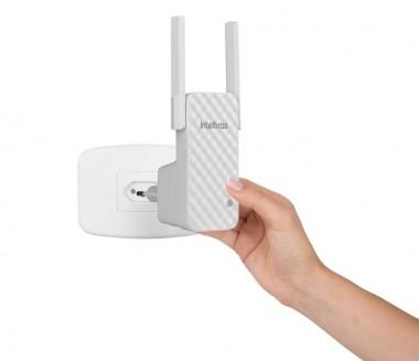 Repetidor de Sinal Wi-Fi e Ponto de Acesso 300 Mbps IWE 3001 Intelbras