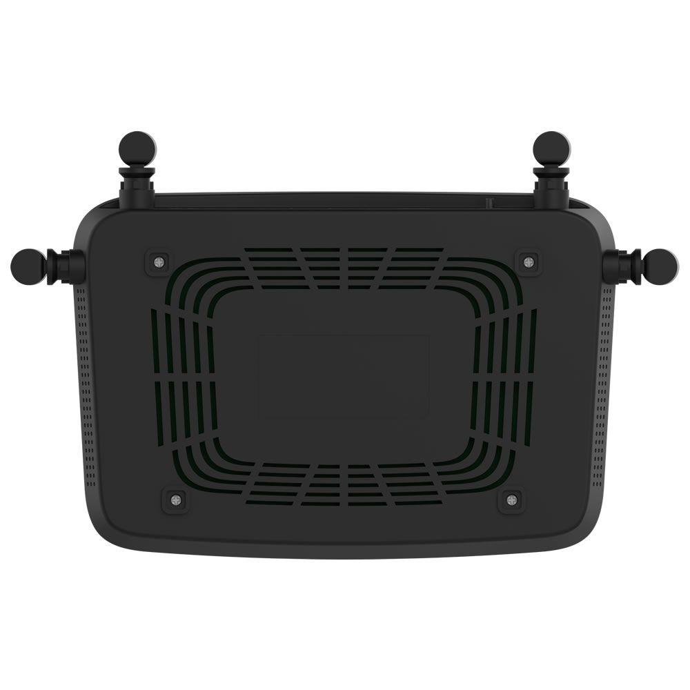 Roteador Wireless Dual Band Com Porta WAN Giga e LAN Fast GF 1200 Intelbras