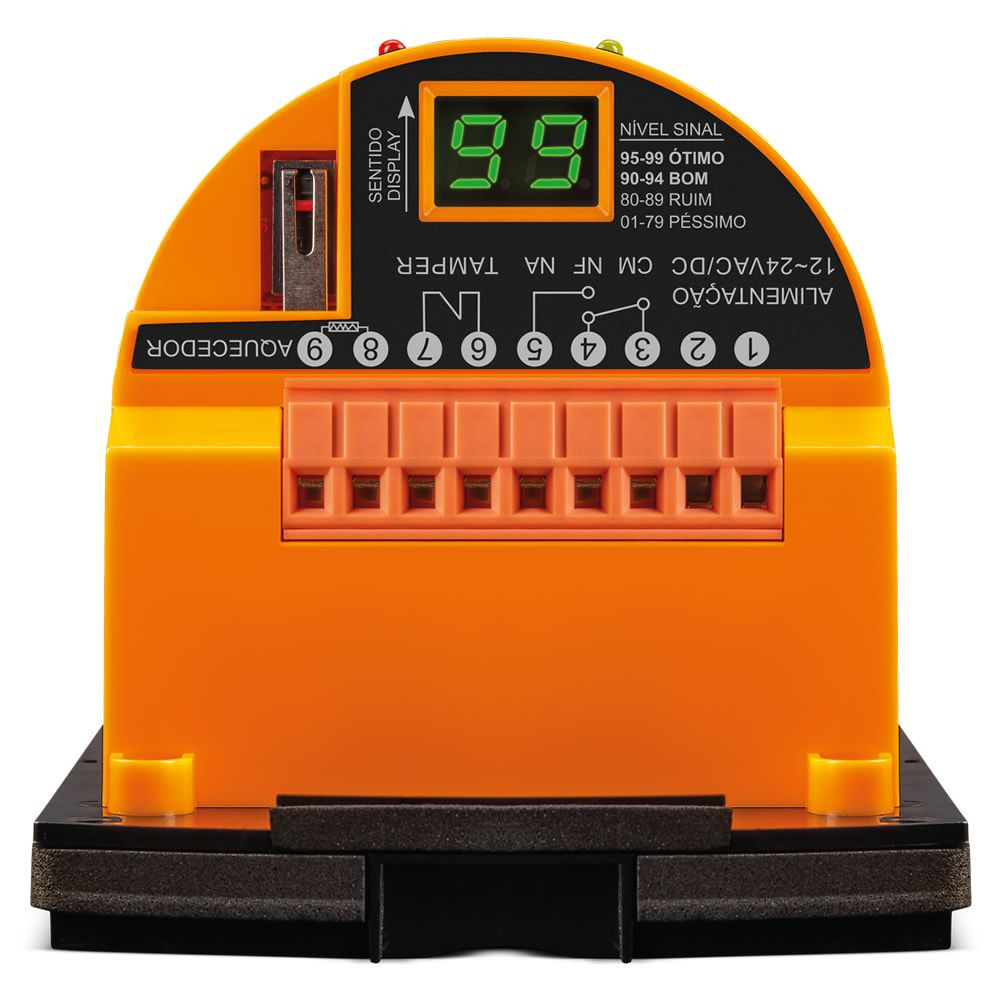 Sensor Barreira Ativo Tipo Cerca 3 Feixes 100m IVA 9100 TRI Intelbras