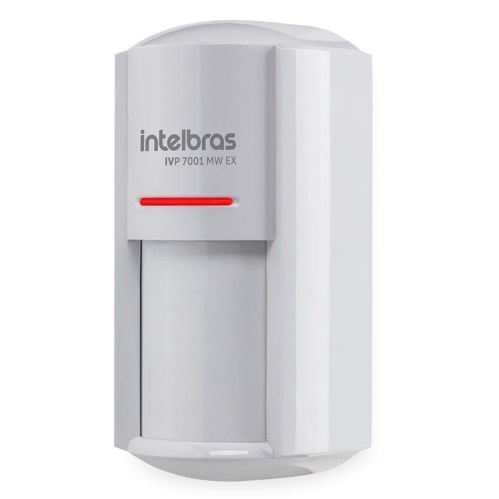 Sensor Infra Micro-ondas Pet Immunity 20 Kg Uso Externo IVP 7001 MW EX Intelbras