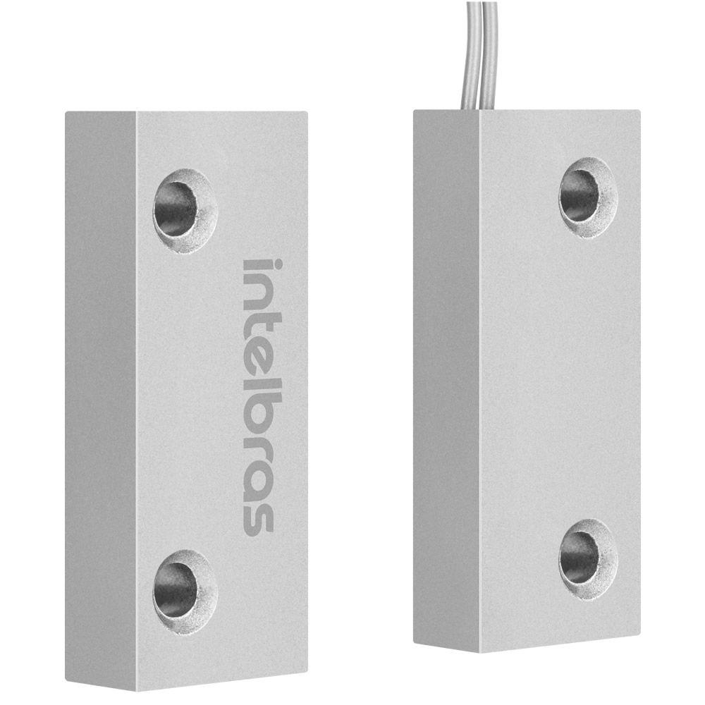 Sensor Magnético Com Fio Xas Porta de Aço Mini Intelbras