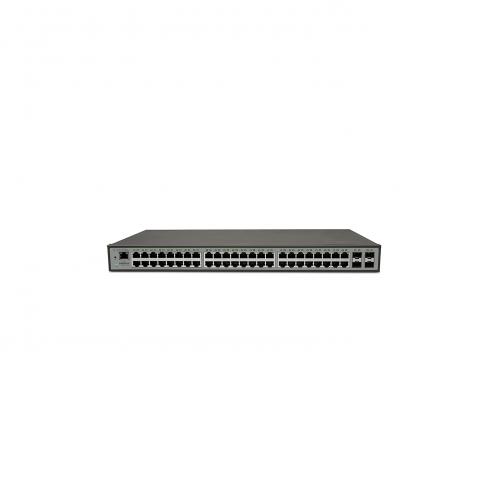 Switch 48 Portas Gigabit + 4 Portas Mini-Gibic SG 5204 MR L2+ Intelbras