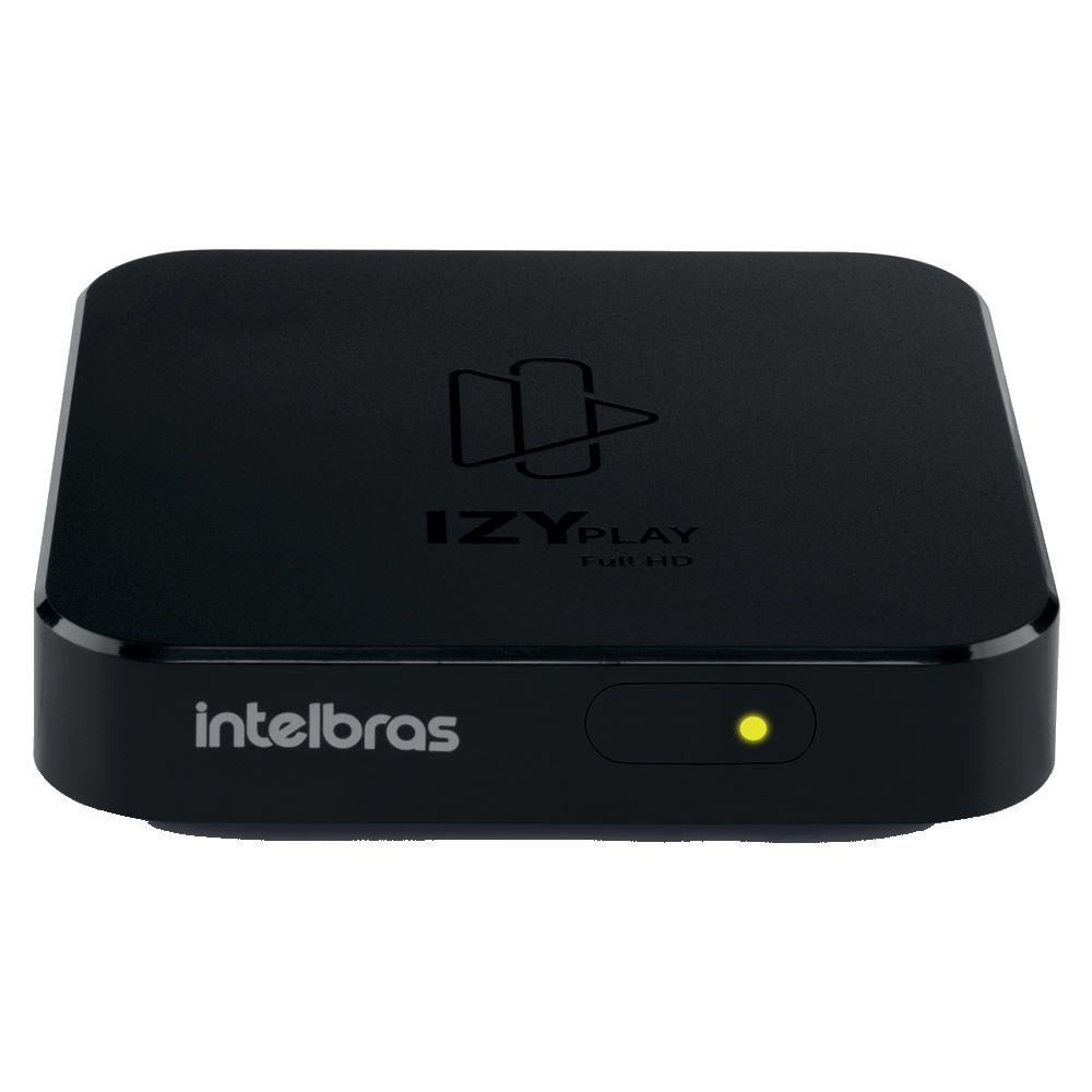 Smart Box Android TV Vídeo Media Streaming Izy Play Intelbras