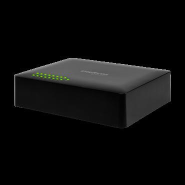 Switch 16 Portas 10/100 1 PoE Passivo SF 1600 Q+ Intelbras
