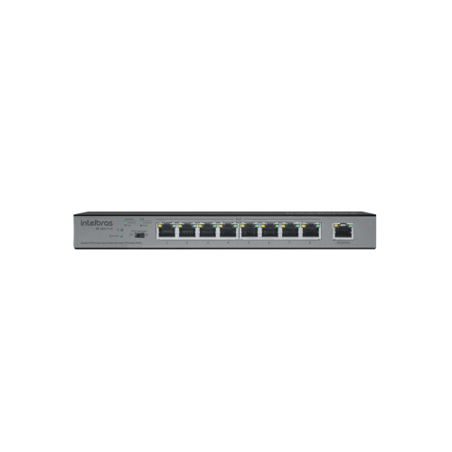 Switch 9 Portas Fast Ethernet SF 900 POE Intelbras