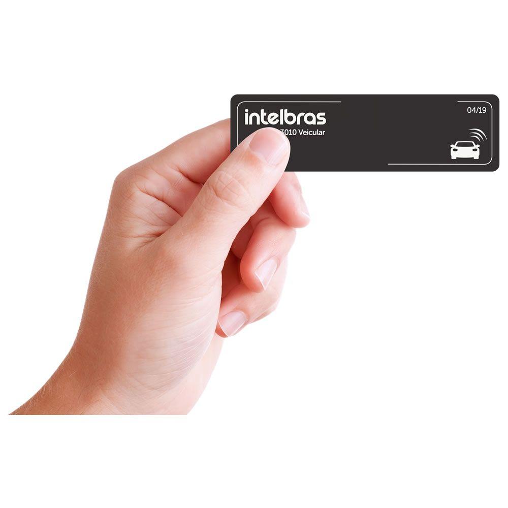 Tag Etiqueta Adesiva Veicular RFID 900MHz TH 3010 Veicular Intelbras