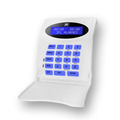 Teclado LCD Com Fio Para Centrais Monitoráveis TEC 300 JFL