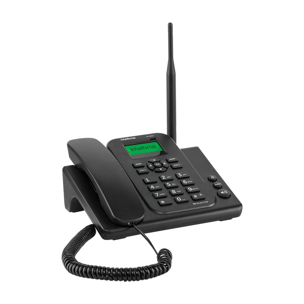 Telefone Celular Fixo GSM 2G CF 4202N INTELBRAS