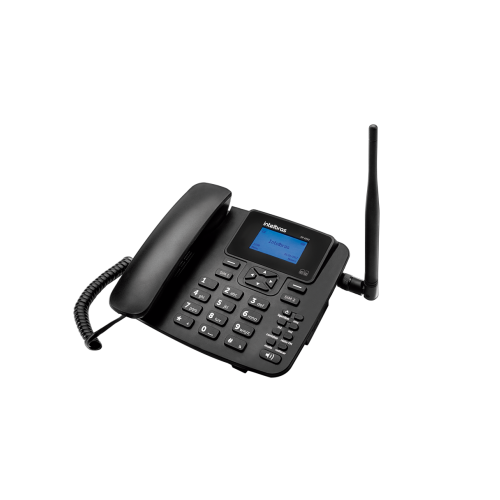 Telefone Celular Fixo GSM Até 2 Chips Intelbras CF 4202