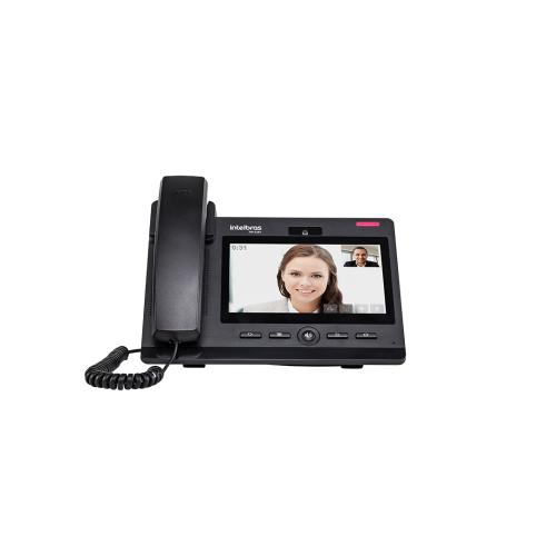 Telefone IP Giga Voip Touch Screen Com Video Chamada  TIP 638 V Intelbras