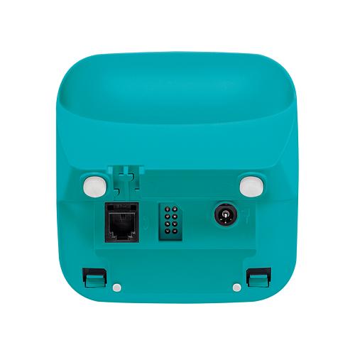 Telefone Sem Fio Com Identificador TS 3110 Branco e Azul Claro Intelbras
