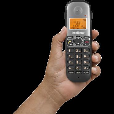 Telefone Sem Fio Com Ramal Identi Chamada TS 5122 Intelbras