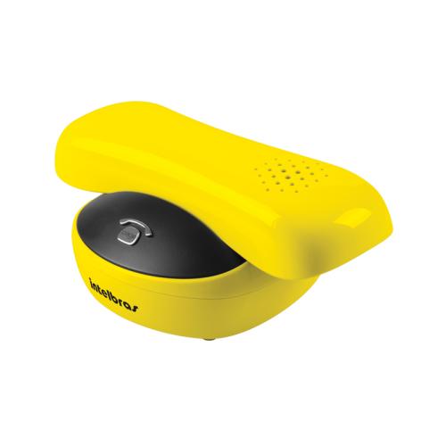 Telefone Sem Fio Com Design Exclusivo Amarelo TS 8220 - Intelbras