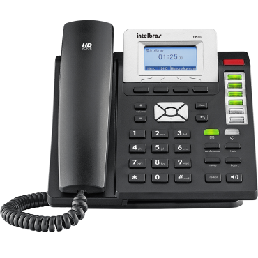 Telefone Terminal Inteligente IP HD Voice TIP 210 Intelbras