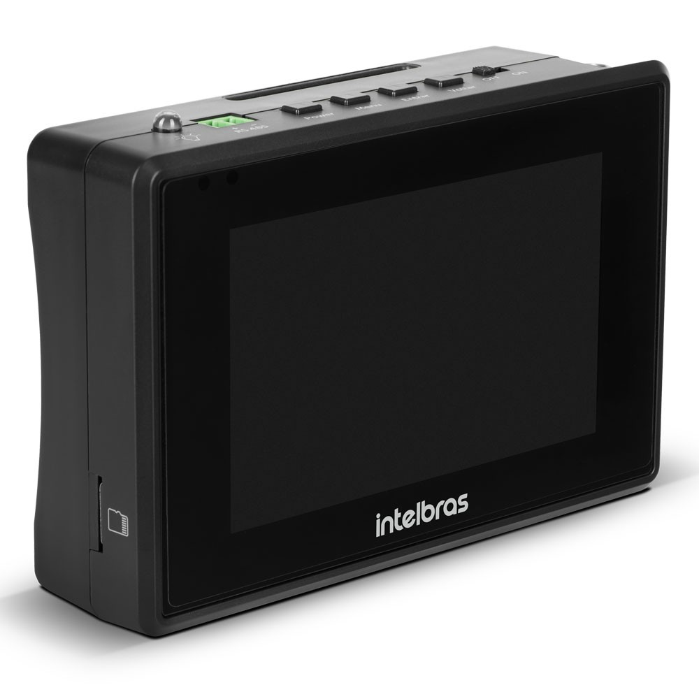 "Testador Multifunções para CFTV IP e Multi HD Tela 4"" TESTER 3000 MT Intelbras"