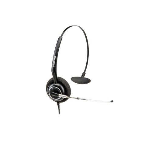 Headset Corporativo Monoauricular Ergonômico QD Quick Disconnect THS 55 QD - Intelbras