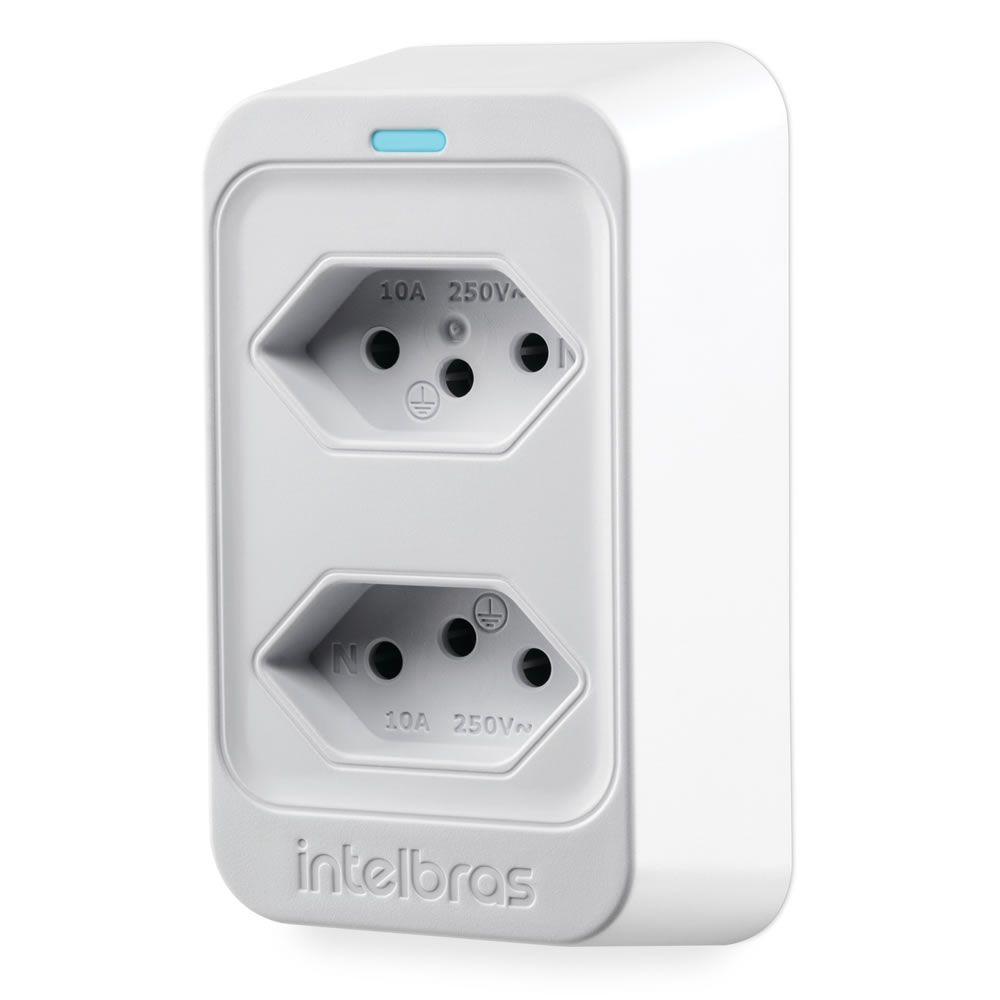 Dispositivo de Proteção Contra Surtos Elétricos Bivolt EPS 302 Branco Intelbras