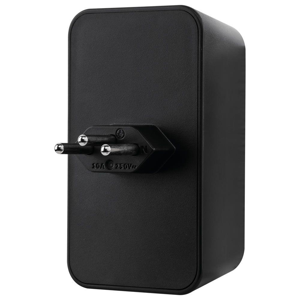 Dispositivo de Proteção Contra Surtos Elétricos Bivolt EPS 302 Preto Intelbras