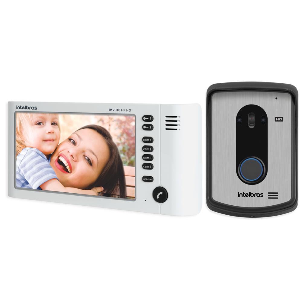 "Videoporteiro Residencial Multi HD 7"" IV 7010 HF HD Intelbras"
