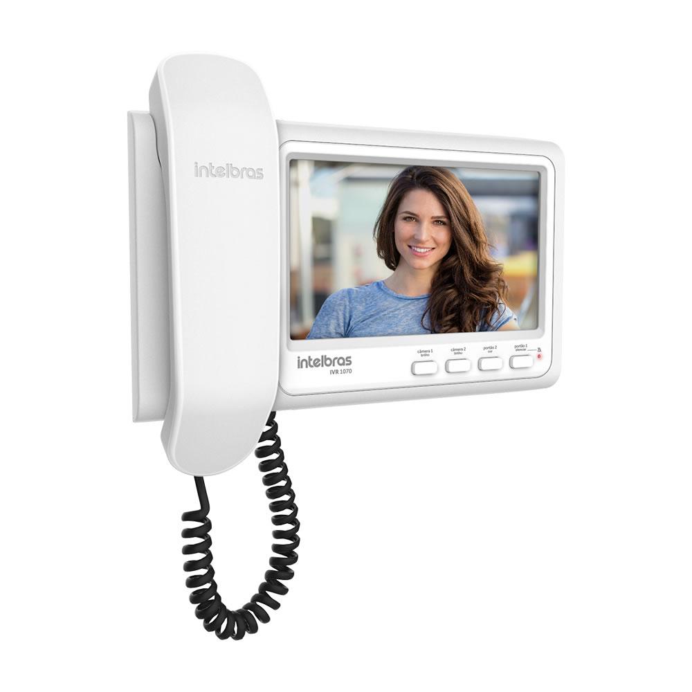 """Videoporteiro Residencial 7"""" Colorida IVR 1070 HS Intelbras"""