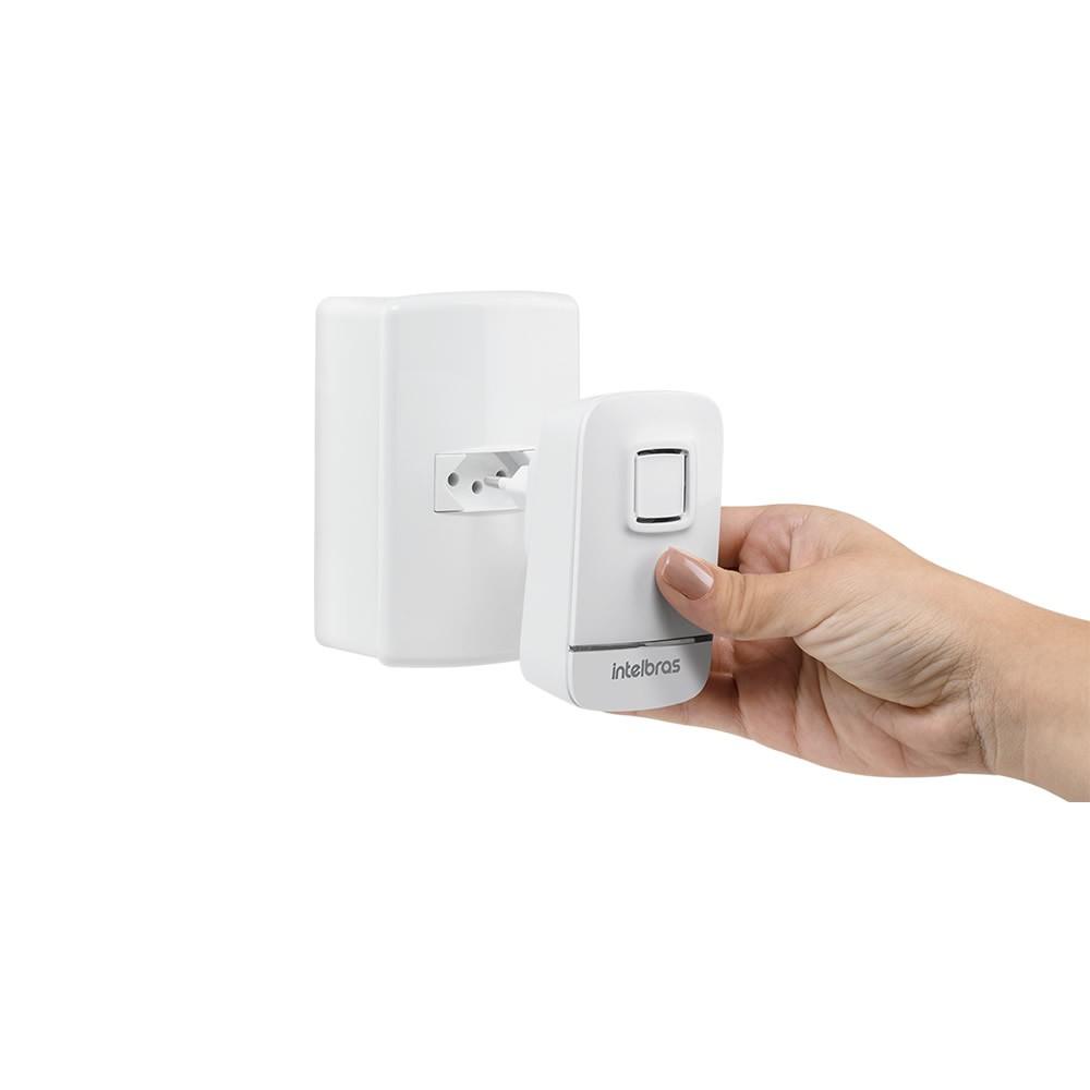 Videoporteiro Wi-Fi Atendimento Via Aplicativo Allo W3 e Campainha Sem Fio CIB 100 Intelbras