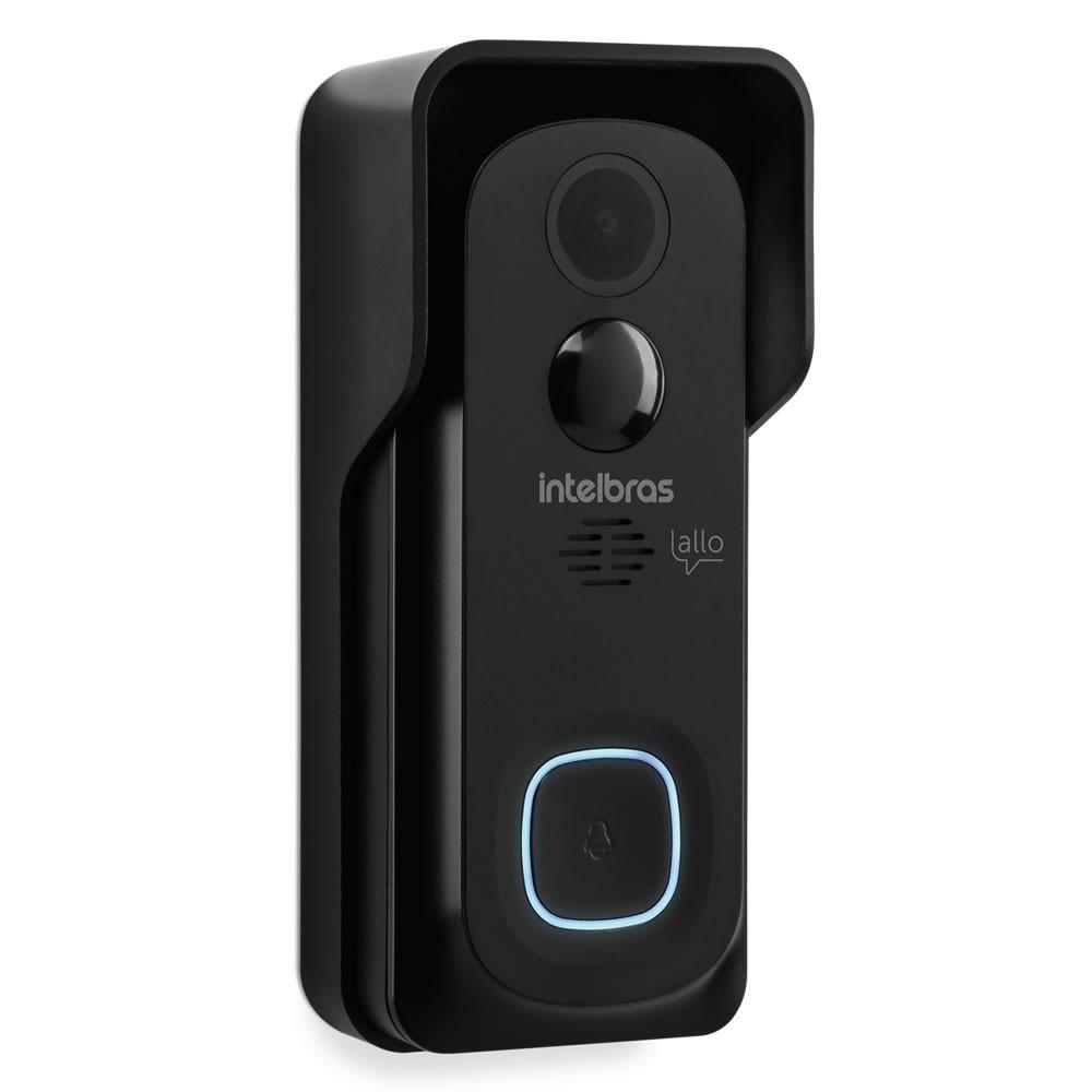 Videoporteiro Wi-Fi Atendimento Via Aplicativo Smartphone Allo w5 Intelbras