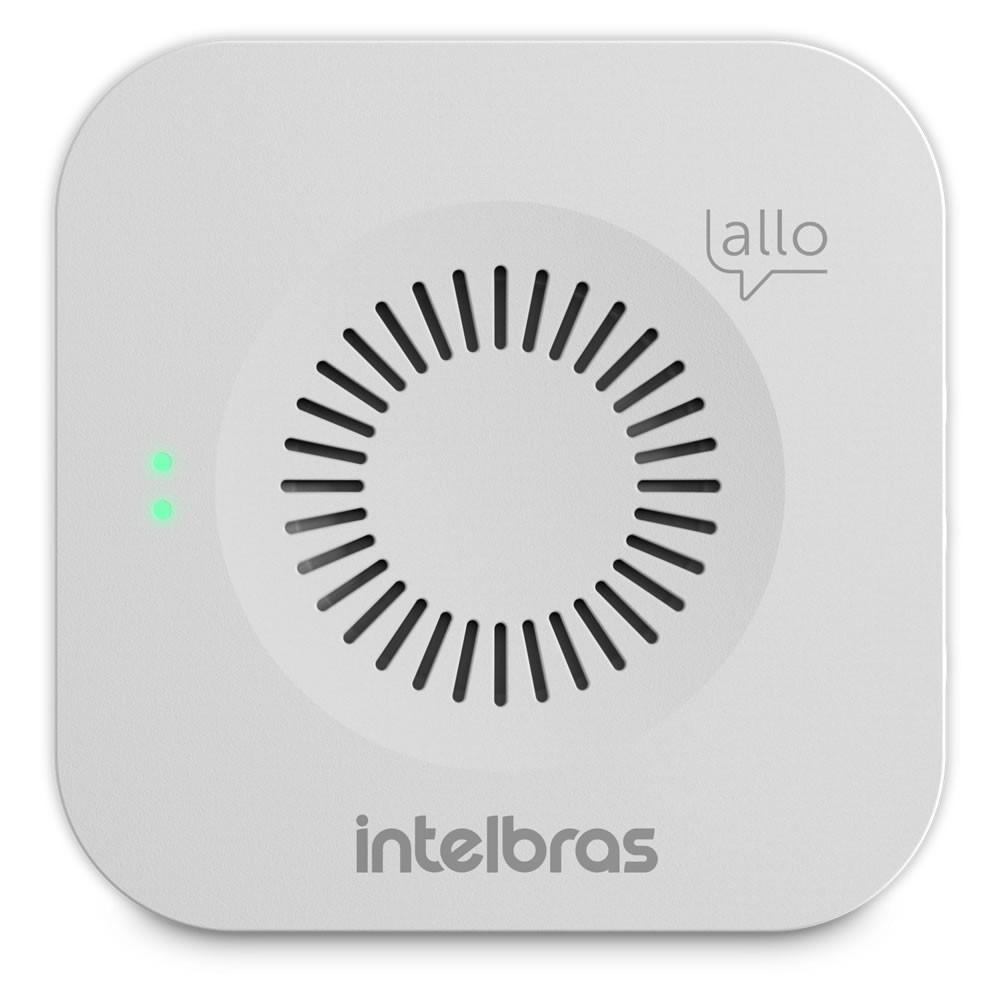 Videoporteiro Wi-Fi Atendimento Via Aplicativo Smartphone + Campainha Allo w5+ Intelbras