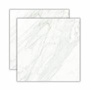 Calacata Satin 83x83cm <br><b>R$ 63,90  M² </b><br>Cx 2,10  M² ➔<b> R$ 134,19  </b>