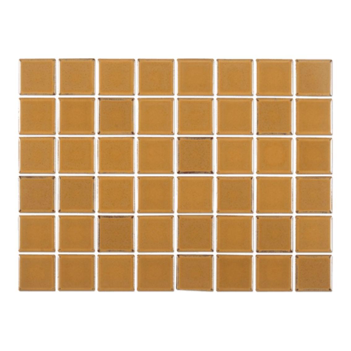 Pastilha Amarelo Diamantina 5x5 cm <br /><b>R$ 91,90 M² </b><br />Cx 1,08 M² <b> R$ 99,25</b>