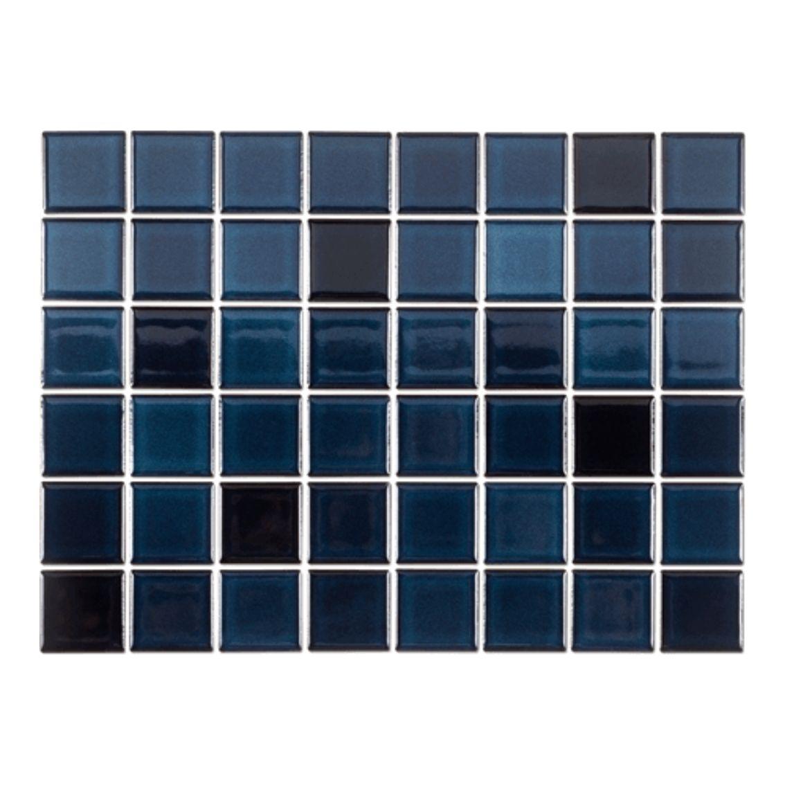 Pastilha Azul Maranhão GCR 5x5 cm <br /><b>R$ 138,00 M² </b><br />Cx 0,84 M² <b> R$ 115,92</b>