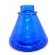 Fornilho Funil AZUL 11cm+Vaso base larga 12 cm alt.+Vedações