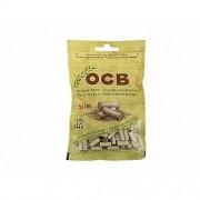 Filtro para Cigarros OCB Ecopaper - Tamanho Slim com 120 unidades. - FILTRO_CIGARRO_OCB_120UN