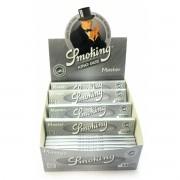 CAIXA de Seda SMOKING MASTER KING SIZE com 50 livros com 33 papéis cada.