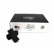 Carvão de coco para narguile e incenso ZOMO 500gr - 26 unid. formato HEXAGONAL.