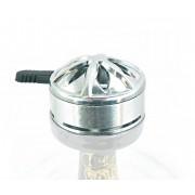 Controlador de calor para narguile XG YAHYA com janelas laterais. Medida padrão rosh funil (7,5cm diâmetro) YTG03