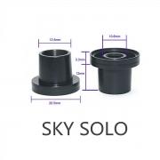 Piteira 20mm (Drip Tip) para Vaporesso Sky Solo Kit (pequeno). Tampa rosqueada com piteira. 1 unid.