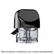 Pod de reposição (cartucho para juice) para vape Smok NORD POD 3ml (sem a coil) - 1 unid.