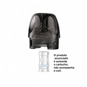 Pod de reposição (cartucho para juice) para vape Voopoo ARGUS AIR 3,8ml (sem a coil) - 1 unid.