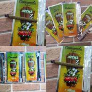 Seda/Blunt Atchá Wraps (sabores). Pacote com 7 unidades.