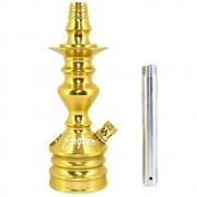 Stem (corpo de narguile) Hookah King Empire Dourado