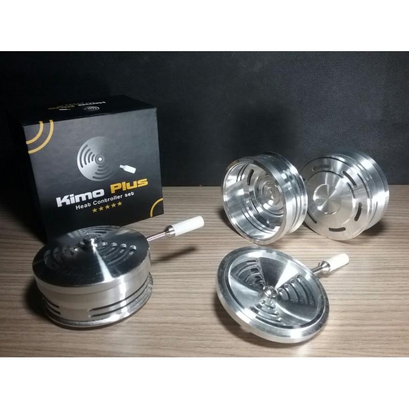 Controlador de calor KIMO PLUS em alumínio usinado 7,5cm de diâmetro