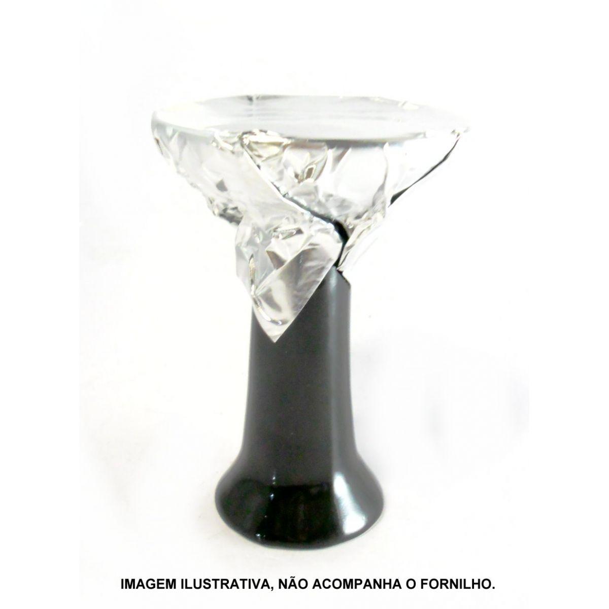 CAIXA de Folhas de Alumínio para narguile MD HOOKAH, GROSSO (30 micras), 16,5cm, corte quadrado, caixa com 50 un.