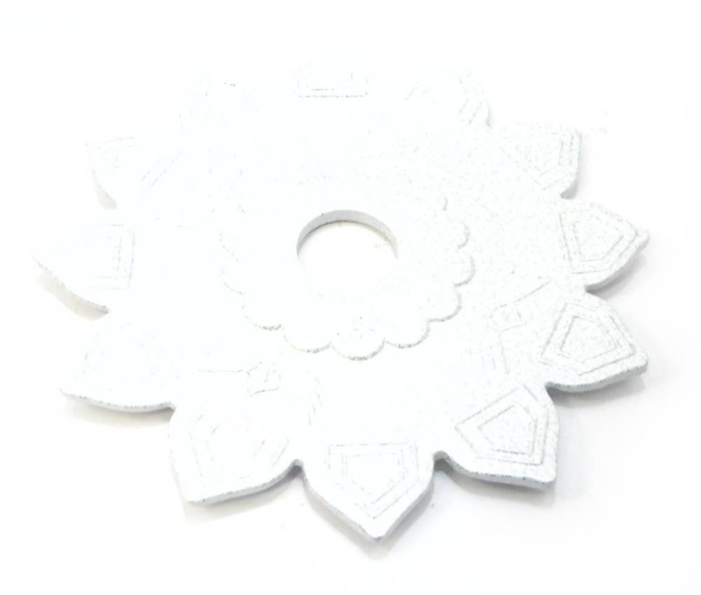Prato para narguile marca Judith Estrela / Lótus. 22cm de diâmetro, furo 3,7cm de diâmetro
