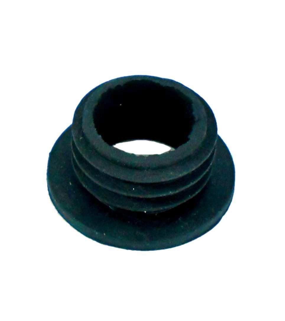 Borracha / Vedação para vaso P/M em látex preto, 2,3cm alt. Use em vasos c/3,3~3,9cm diâmetro bocal.