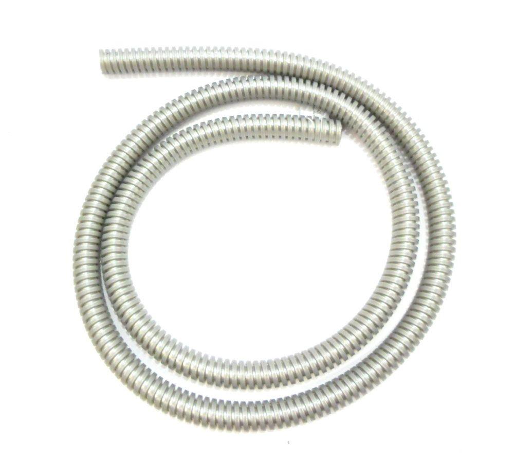 Mangueira Helix, marca Hookah King, em silicone antichamas com espiral externa. 1,65m.