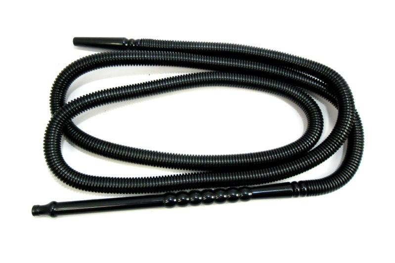 Mangueira lavável MD HOSE BLACK marca Mundial, plástico corrugado preto. 2,20 metros, grossa.