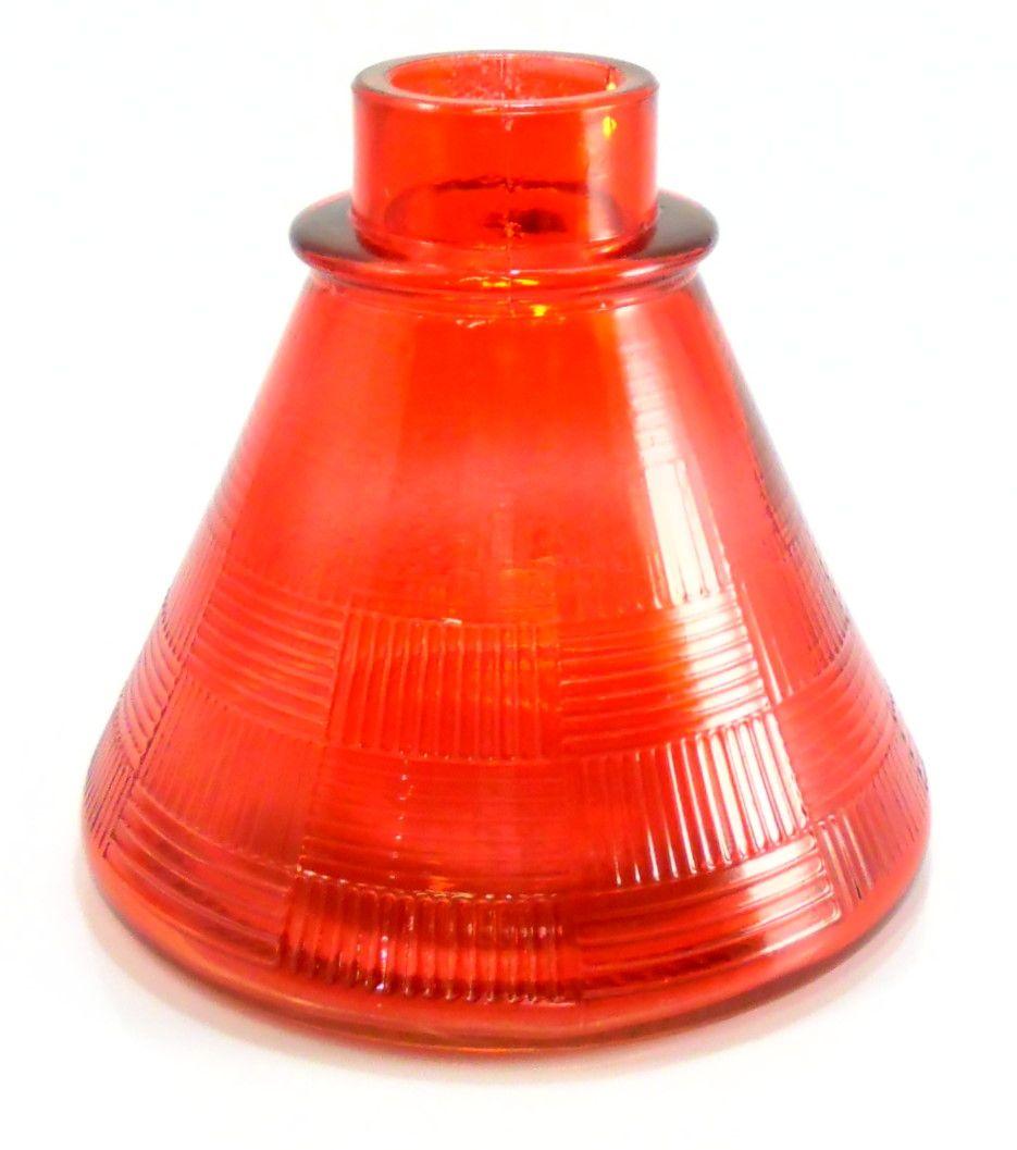 Vaso/Base para narguile base larga encaixe macho, 11cm alt. P/stems Judith, Triton, Amazon, Mya, etc