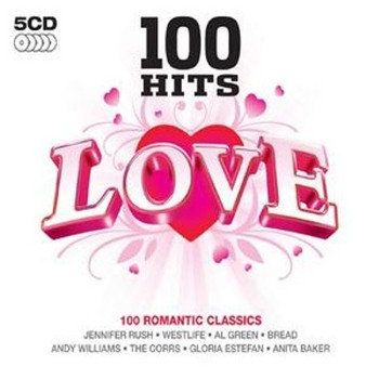 100 Hits Love - Various -  BOX -  Importado  - Billbox Records